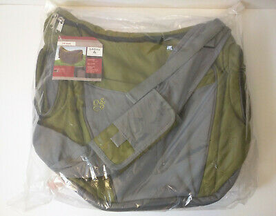 Daddy & Company Shoulder Diaper Messenger Bag Dad Olive Green NWT NEW