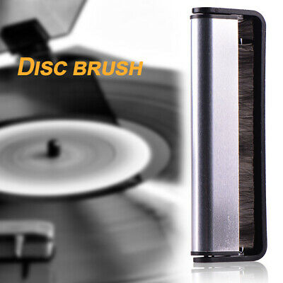 Carbon Fiber Anti Static Brush Clean Cleaner Remover Vinyl Record Cleaning Kit