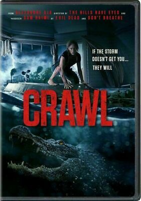 Crawl  2019 - DVD - Kaya Scodelario Barry Pepper - BRAND NEW