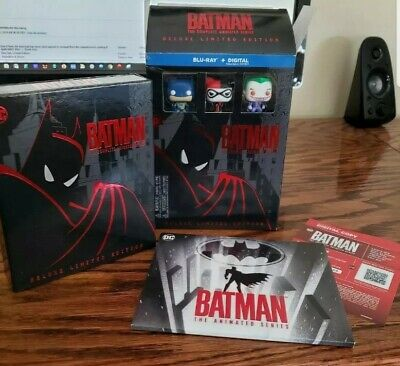Batman The Complete Animated Series (Blu Ray) Deluxe Limited Edition Complete