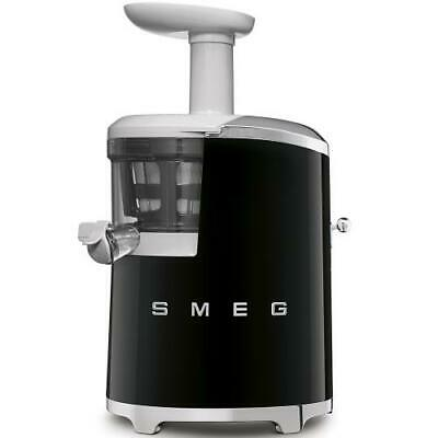 Smeg SJF01BLEU Extractor by Juice Years 50 150 Watts 500 ML Black Chrome