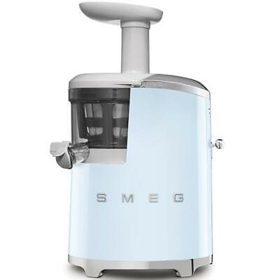 Smeg SJF01PBEU Extractor by Juice Years 50 150 Watts 500 ML Blue Chrome