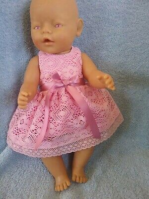 Handmade Clothes For 17inch Zaph baby born and Interactive Sister