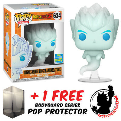 Funko Pop Dragon Ball Z Gotenks Super Ghost Kamikaze Attack Sdcc 2019 Exclusive