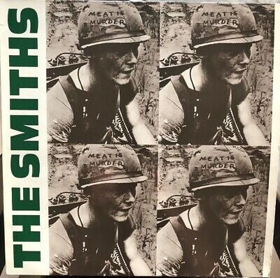 The Smiths Lp Meat Is Murder / Rough Trade France 1985 - Virgin - 70 314