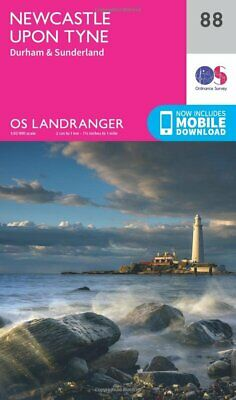 Landranger (88) Newcastle upon Tyne  Durham & Sunderland (OS La New Map Book