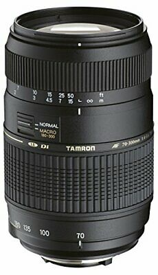 Tamron AF 70-300mm f/4.0-5.6 Di LD Macro Zoom Lens with Built in Motor for