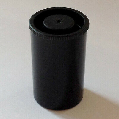100 Film Canisters black stoage box crafts geocaching snap shut lid fishing