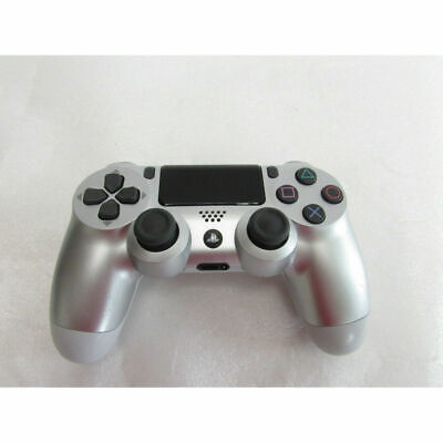 Official Genuine Sony Playstation 4 Ps4 Controller Gamepad Silver Dualshock 4