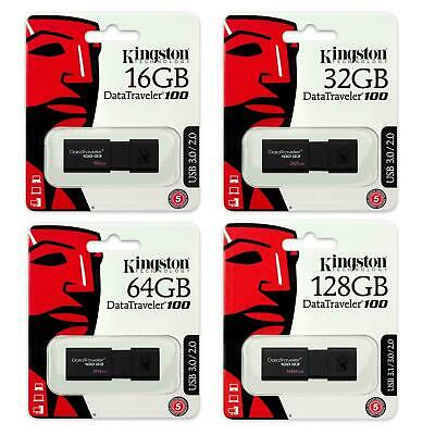 Kingston USB Stick 32GB 16GB USB 3.0 Data Traveler 100 G3 Memory Flash Pen Drive