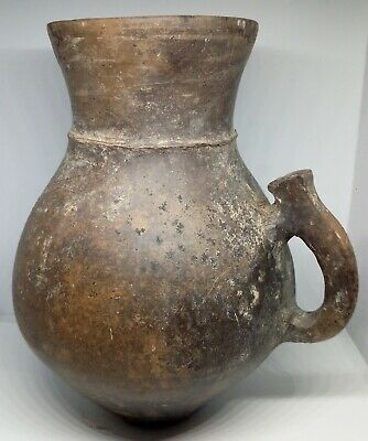 Pottery Jug Zoomorphic / Magnetized / Koban Scythian  1100-600BC. Clay / Rare