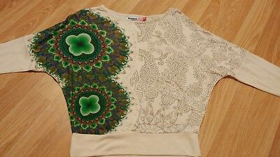 DESIGUAL Girls Top Age 5/6 NEW RRP£39