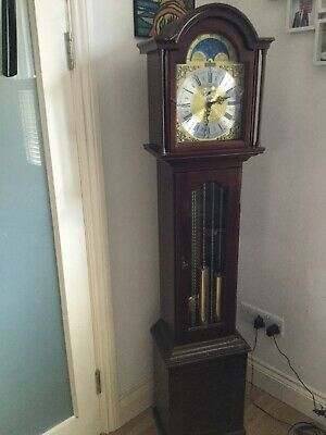 Grandmother Clock - Richard Broad Bodmin Cornwall & Instructions  Manual