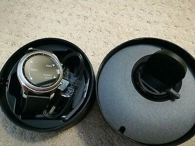 Open BOX Samsung Galaxy Gear S3 Classic 46mm Silver Stainless Steel Case Watch