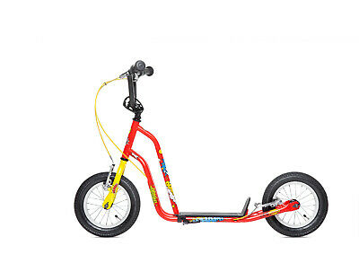 Kids Scooter BMX Stunt Scooter - Boys & Girls Big Wheel Scooter New 3 Colours