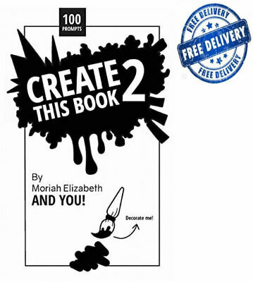 Create This Book 2: Volume 2 by Moriah Elizabeth,NEW BOOK - FAST DELIVERY