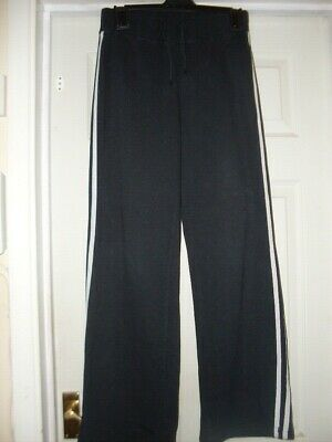 Girls Olympus Sport Black Track Suit Bottoms Aged 13
