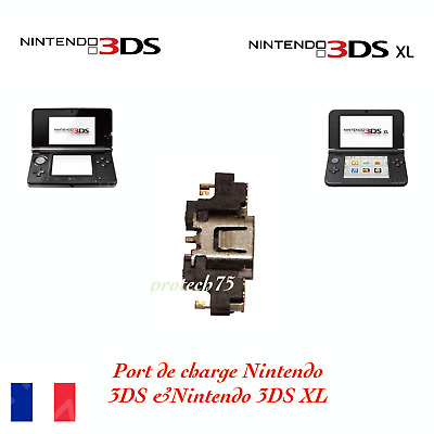 Prise alimentation Port de charge Nintendo 3DS connecteur 3ds xl dock N3ds origi