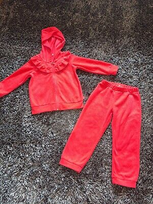 Immaculate - Billieblush Pink Frill Glitter Tracksuit - Age 3 Years
