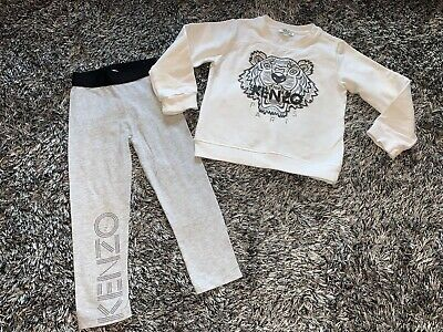 Very Good Condition - Kenzo Tiger Jumper & Leggings Set - Age 4 Years
