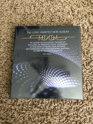 """TOOL Fear Inoculum Limited Edition Deluxe CD Tri Fold 4"""" HD Screen & MORE"""