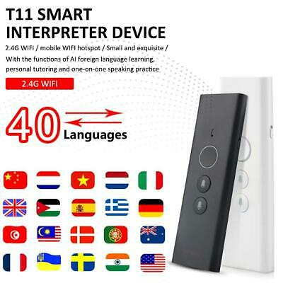 Portable Smart AI Voice Translator Upgrade Version For Learning Travel Business