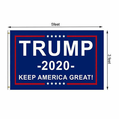 3x5ft Trump 2020 Keep America Great President Donald Make America Great Flag