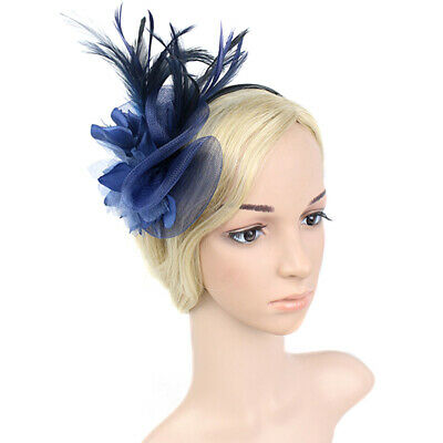 Banquet Vintage Flower Fascinator Party Mesh Knot Wedding Gift Accessory Fashion