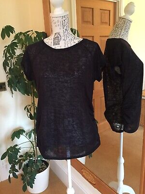 Mothercare Black Maternity Blooming Marvellous Top Size 12