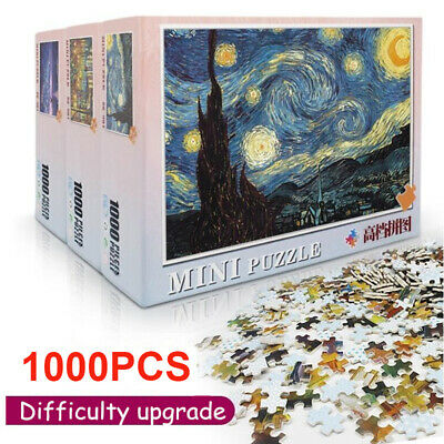 1000 Pieces Jigsaw Puzzles Educational Toys Scenery Space Stars Puzzle Toy Gifts