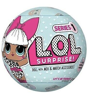 LOL SURPRISE! Doll Series 1 NEW - BUY 2 & GET 1 FREE.