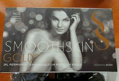 SmoothSkin Gold IPL Hair Removal Device . Smooth Skin. Reduced!