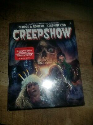 Creepshow Blu ray NEW Sealed Collectors Edition Limited Scream Factory