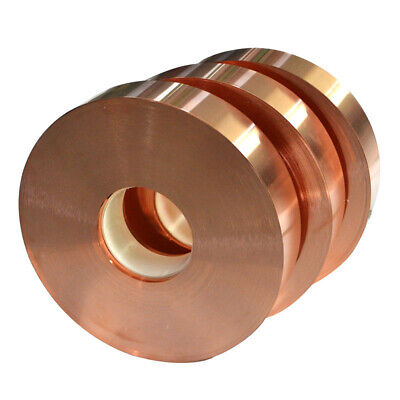 1pcs 0.8mm x 30mm x 1000mm 99.9% Pure Copper T2 Cu Metal Sheet Foil Plate Strip