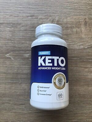 *PUREFIT* KETO ADVANCED WEIGHT-LOSS DIET CAPSULES (60) BN -SEALED - Dragon's Den