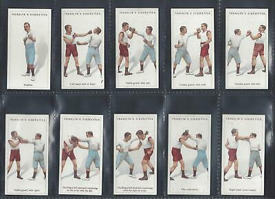 Franklyn Davey - Boxing - Full Set Of 25 Cards