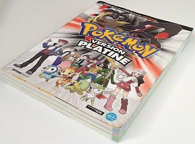 PROMO nintendo ds GUIDE POKEMON VERSION PLATINE fr