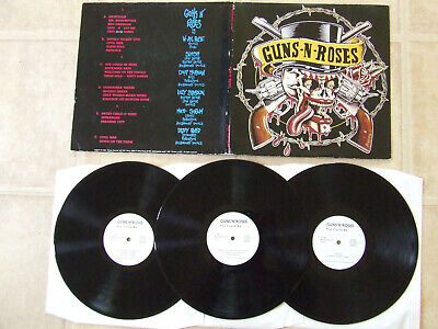 GUNS N' ROSES you could be 3LP live 1991..MIXING RECORDS-MX 7002  years 1991