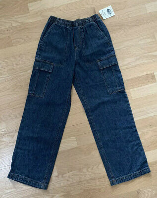 Boys Canyon Cargo Blue Jeans Size 10-12