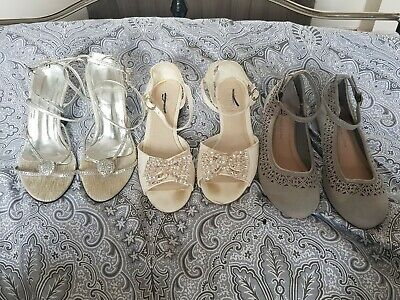 Brand New Girls Bundle Of Shoes Size 3 Next/new Look