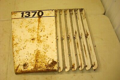 1974 Case 1370 Tractor Left Front Side Panel