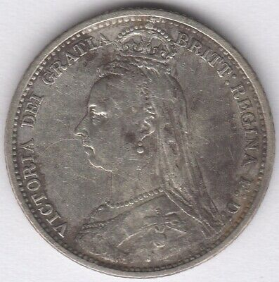 1889 Victoria Silver Sixpence | British Coins | Pennies2Pounds