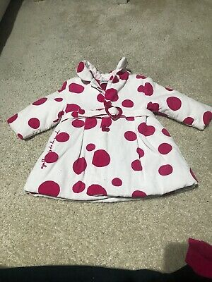 AGATHA RUIZ DE LA PRADA BABY Coat Dress Top & Tights Set Girl 12Months
