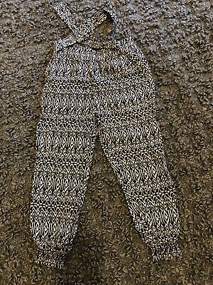 Primark Young Dimension Aztec Girl Trousers 2-3 Years