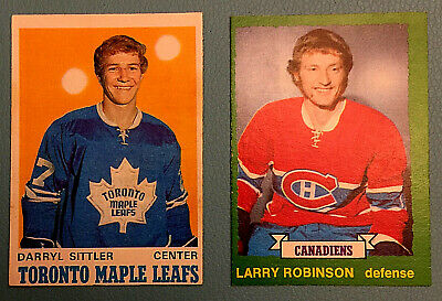 1970 OPC EX+ * Darryl Sittler * RC O-Pee-Chee Rookie #218 Toronto Maple Leafs