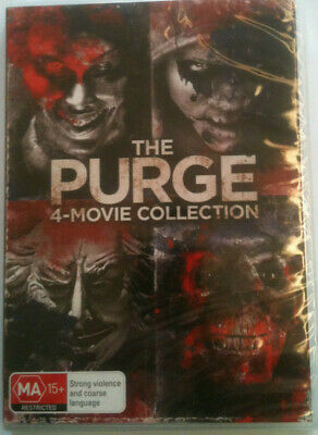 The Purge - 4 Movie Collection=New R4 Dvd