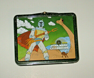 Boba Fett Star Wars Holiday Special Tin Lunch Box 2019 Celebration Chicago swcc