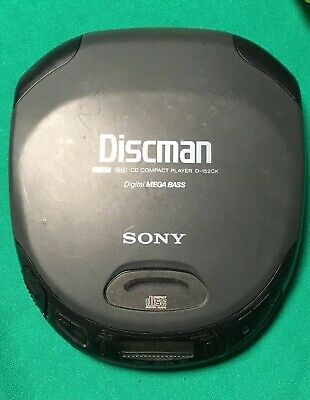 Vintage Sony Discman CD Compact Player D-152CK