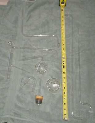 Lot Of Misc Lab Glass Glassware - Tubes, Etc.