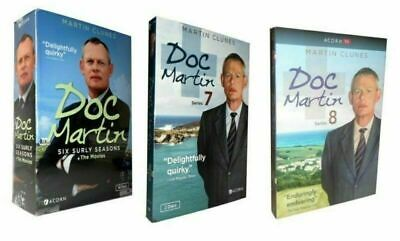 Doc Martin Season 1-8 DVD Box Set Complete Collection Series 1 2 3 4 5 6 7 8 UK